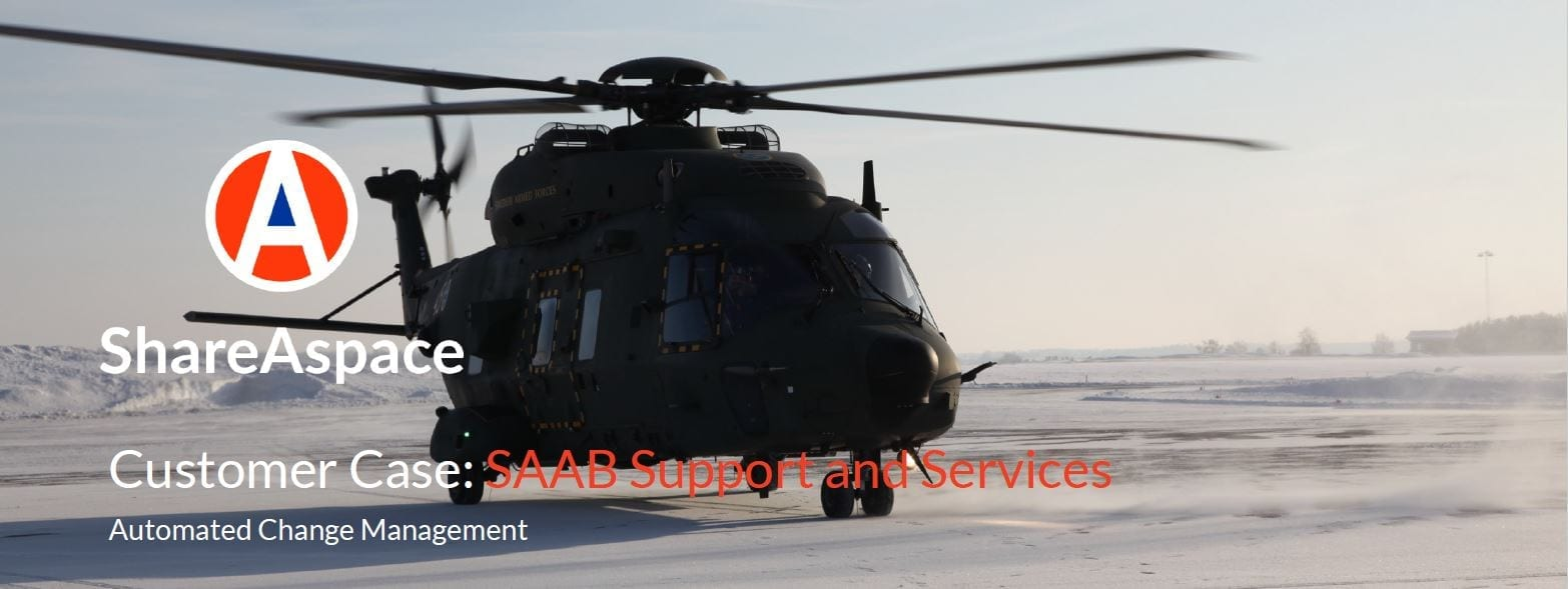 SAAB Support and Services – NH90 Automated Change Management