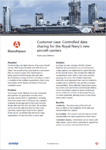 Royal Navy Aircraft Carrier Customer Case preview image